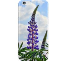 Leaning Lupins iPhone Case/Skin