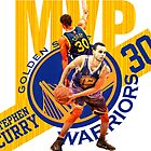 Stephen Curry #30 MVP by kaiffer