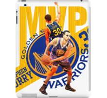 Stephen Curry #30 MVP iPad Case/Skin