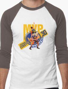 Stephen Curry #30 MVP Men's Baseball ¾ T-Shirt