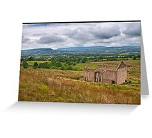 Views from Pendle Hill Greeting Card
