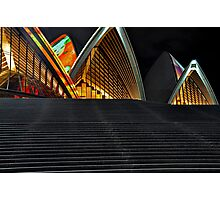 Sails and Stairs Photographic Print