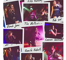 Fifth Harmony Polaroid Collage by foreverbands