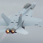 F/A-18F Super Hornet Takeoff by Daniel McIntosh