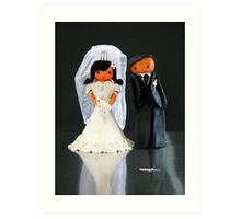 CHUNKIE Wedding Art Print