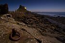 Lindisfarne Castle by Moonlight by David Lewins