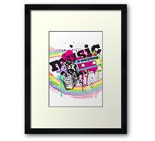 MUSIC is everything [ poster ] Framed Print