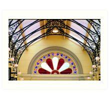 Royal Arcade Art Print