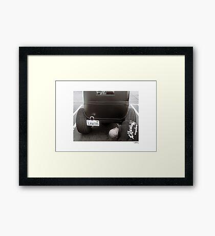 DONUT DERELICTS, Huntington Beach • 001 Framed Print
