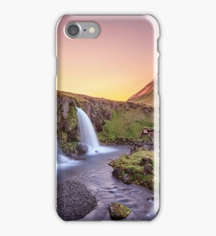 Short Summernights Of Eternal Twilight iPhone Case/Skin