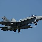 F/A-18A Hornet Takeoff by Daniel McIntosh