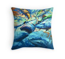 Sushi For Breakfast Throw Pillow