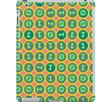 Bits pattern iPad Case/Skin
