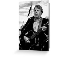 Mike Brady Greeting Card
