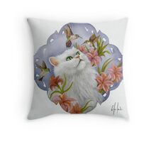 Miss Chelsea Throw Pillow