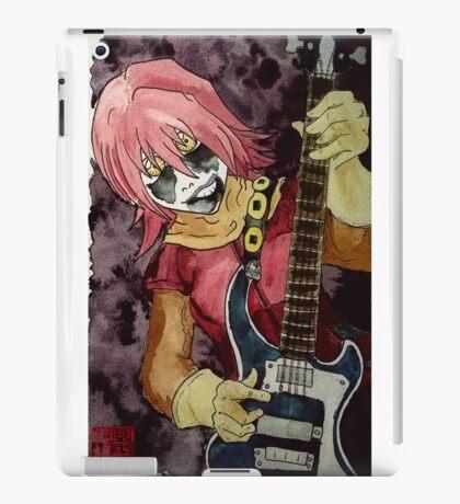 Black Metal Bass Girl iPad Case/Skin