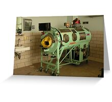 Iron Lung Greeting Card