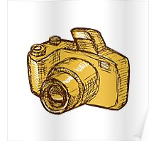 Digital Camera Drawing Poster
