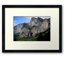 Yosemite Valley ...Magestic Views Framed Print