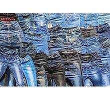 Jeans Photographic Print