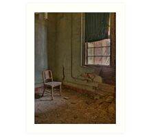 Rusted Chair Art Print