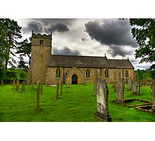Holy Trinity - Coverham,Yorkshire Dales Photographic Print