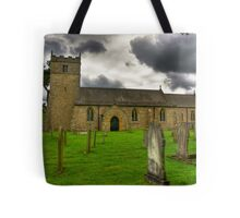 Holy Trinity - Coverham,Yorkshire Dales Tote Bag