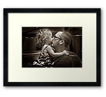 I love you Daddy!!!!!! Framed Print