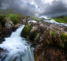 Glencoe Falls by Drew Walker