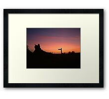 Which Way Was It ? Framed Print