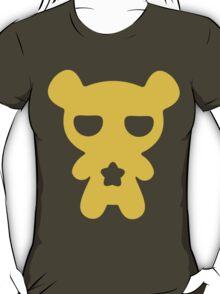 Lazy Bear Yellow Attention T-Shirt