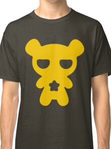 Lazy Bear Yellow Attention Classic T-Shirt
