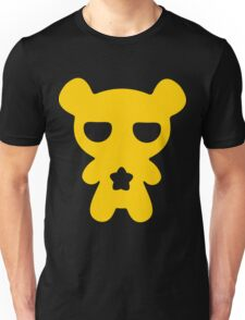 Lazy Bear Yellow Attention Unisex T-Shirt