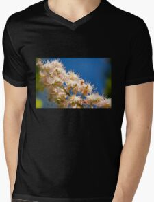 Macro of blooming Aesculus Mens V-Neck T-Shirt