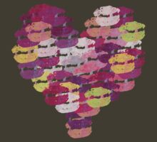 Heart of kisses by ValeriesGallery