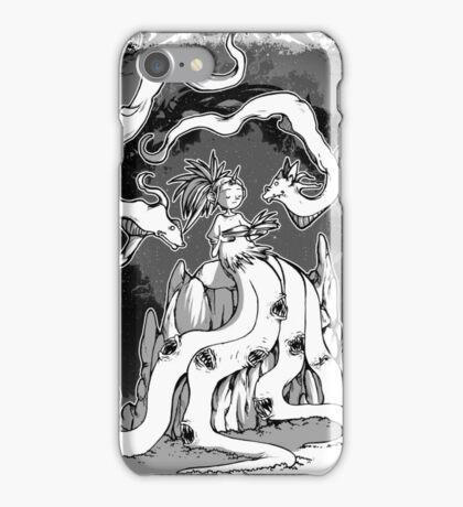 Lady creature fauno iPhone Case/Skin