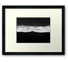 dark hearth  Framed Print