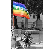 Peaceful Protest Photographic Print