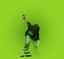 Skateboarding by Carolyn Prior