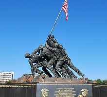 Iwo Jima Memorial by VanillaDolphin