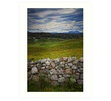 Scottish Highlands, Scotland Art Print