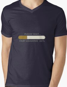 FART LOADING Mens V-Neck T-Shirt