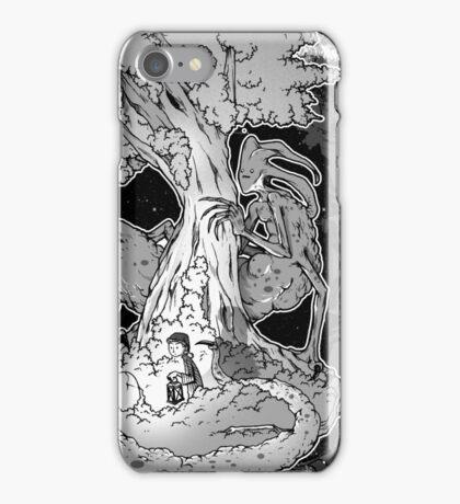 The creature in the dark iPhone Case/Skin