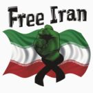 Free Iran, Support the Green Wave by Beverly Lussier