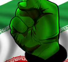 Free Iran, Support the Green Wave Sticker