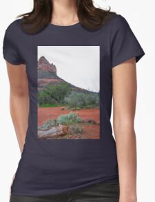 Sedona Red Rocks 4 Womens Fitted T-Shirt