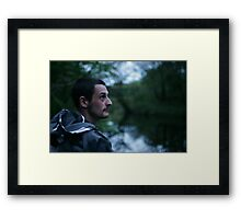 The One That I Want. x x Framed Print