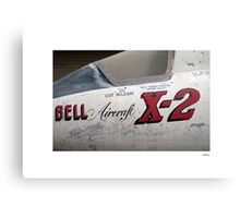 USAF X-2 at the boneyard Canvas Print