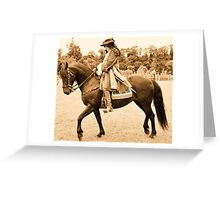 Oldbridge re-enactment , battle of the boyne. Greeting Card