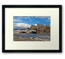 North Bridge - Edinburgh Framed Print